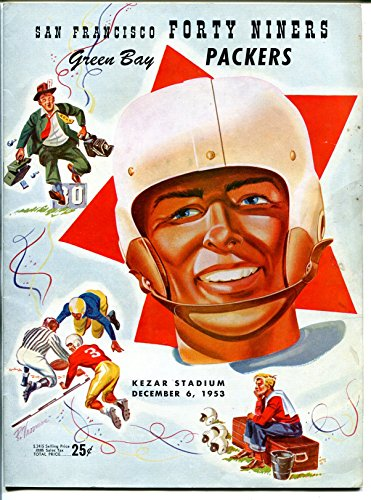 San Francisco 49ers VS Green Bay Packers-NFL Program 12/6/1953-Kezar-G (Green Bay Packers Vs San Francisco 49ers)