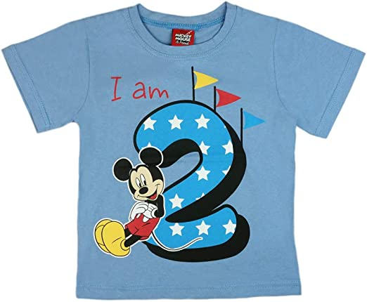 Camiseta para niño, para Segundo cumpleaños, de Manga Corta, de ...