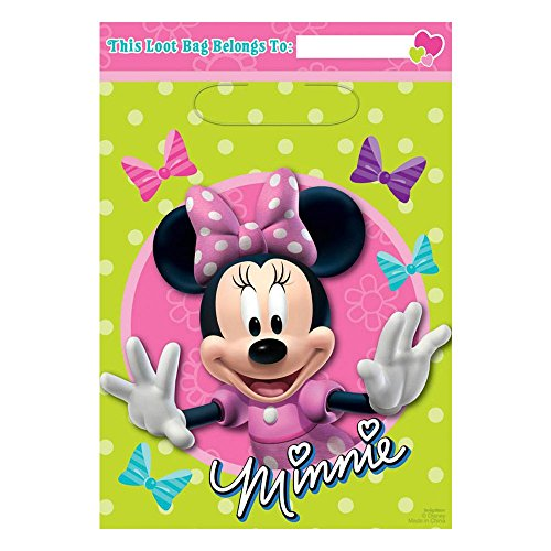 (Amscan Minnie Loot Bag)