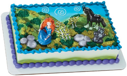 Frozen Cake Decorations Asda : Princess Merida Brave Cakes & Cupcakes