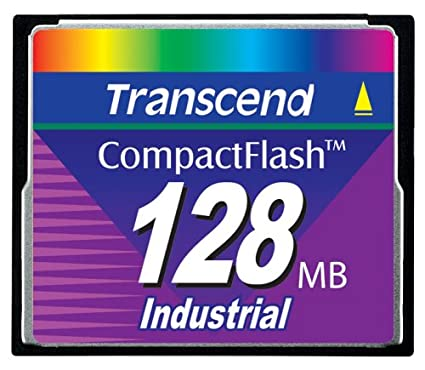 Transcend 128MB Compact Flash Card Memoria Flash 0,125 GB ...
