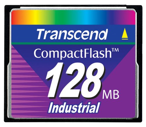 TRANSCEND 128 MB 45X COMPACTFLASH CARD - 128mb Cf Compactflash Memory Card