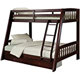 Hillsdale 1668BB Rockdale Bunk Bed, Twin over Full, Espresso