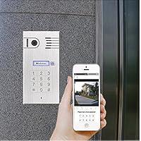 Türsprechanlage mit WLAN Gegensprechanlage Türklingel Iphone Android Aufputz
