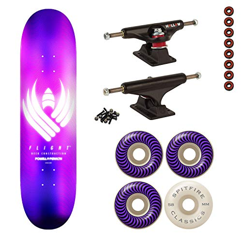 Powell-Peralta Flight Skateboard Complete Purple 8.5