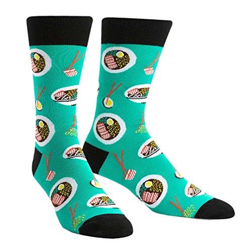 Sock It to Me, Ra-Man! Men's Crew Socks, Food, Ramen Socks -  MEF0230