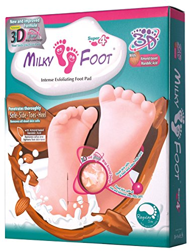Milky Foot - 3D Exfoliating Foot Pad Super 4, 1er Pack (1 x 1 Stück)