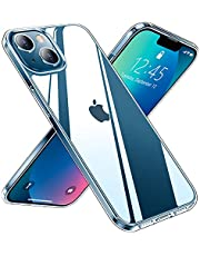 Red2Fire Clear Designed for iPhone 13 Case, [Anti-Yellowing] Slim Thin Transparent Anti-Scratch Shockproof Protective Crystal Clear Case 6.1 inch 2021 (Claer)