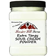 Hoosier Hill Farm EXTRA Tangy Sour Cream Powder, Hormone Free, Made in USA, 2 lb