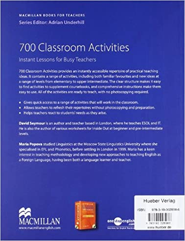 700 classroom activities: Maria Seymour David; Popova ...