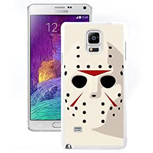 New Beautiful Custom Designed Cover Case For Samsung Galaxy Note 4 N910A N910T N910P N910V N910R4 With Jason Friday 13th Hockey Mask (2) Phone Case