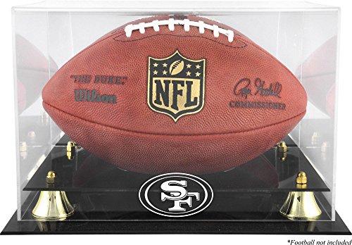 Mounted Memories San Francisco 49ers Team Logo Football Display Case
