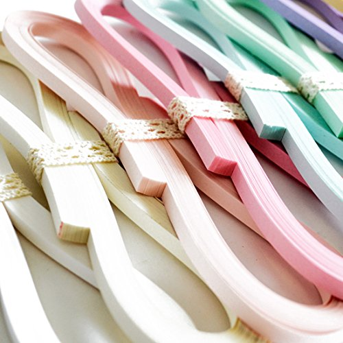 JUYA Tant Paper Quilling Set 1280 Strips 32 Colors 39cm Length/Strips (Paper Width 3mm) by JUYA (Image #1)