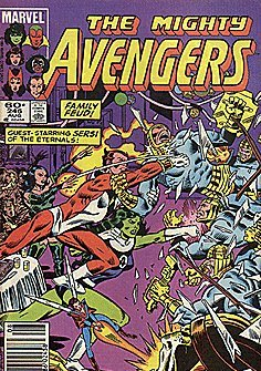 The Mighty Avengers, No. 246 (Vol. 1, August, 1984 Issue)