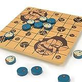 Doraemon wooden Gomoku game and reverse (japan import)