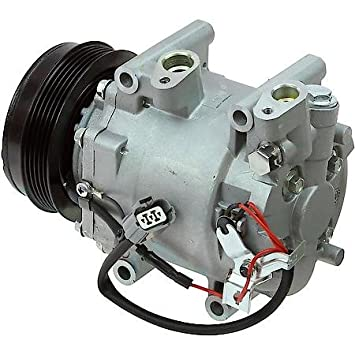 2007 2008 Honda Fit 1.5L 4 cilindro nuevo a/c compresor AC Embrague con 1 año garantía: Amazon.es: Coche y moto