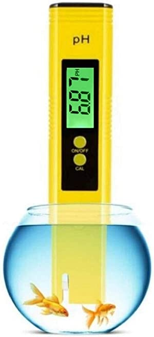 Digital PH Meter,Backlight PH Meter 0.01 High Precision Water Quality Tester PH Range is 0-14 Suitable for Drinking Water Swimming Pool and Aquarium PH Tester Design, with ATC