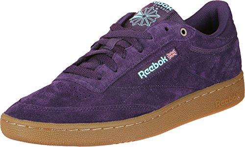 Mu Reebok 0 Gymnastique Club Purple deep Chaussures Homme Multicolore de 85 Mc C Malac 6qxRwrFqt