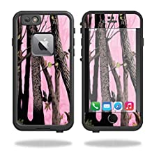 MightySkins Protective Vinyl Skin Decal for Lifeproof Fre iPhone 6 Plus / 6S Plus Case wrap cover sticker skins Pink Tree Camo