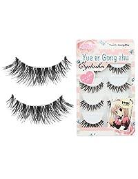 Susenstone 5 Pair/Lot Crisscross False Eyelashes Voluminous eye lashes