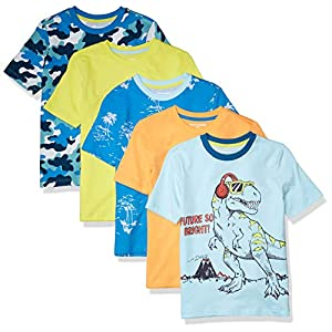 Amazon Essentials Boys Short-Sleeve T-Shirts