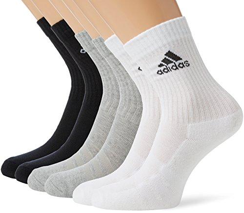 sale retailer online retailer fashion styles adidas Unisex Socken 3-Streifen Crew, 6er-Pack