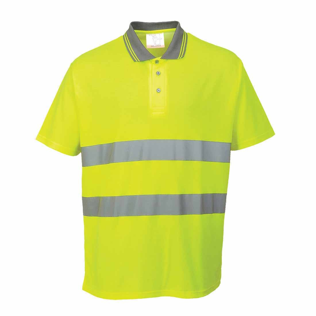 Portwest S171YER4XL - Polo de algodón, talla 4XL, color amarillo ...