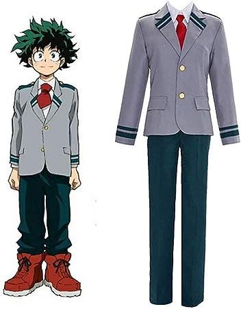 GGOODD Anime My Hero Academia Midoriya Izuku Cosplay Costume ...