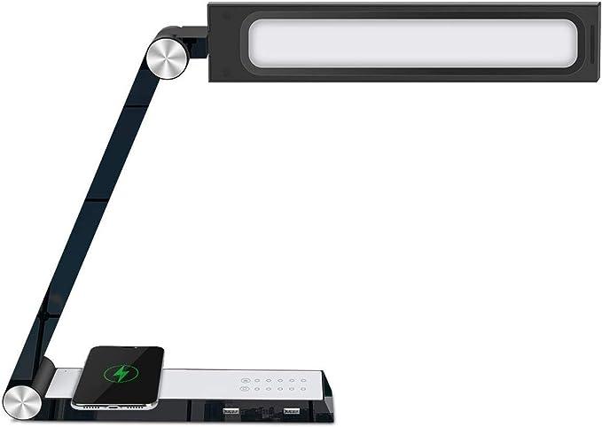 Lámpara Escritorio LED Mesa de protección ocular plegable Mesa de ...
