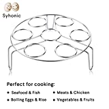 Cheap Syhonic Egg Steamer Rack for Instant Pot and Pressure Cooker Accessories, 1 Pack