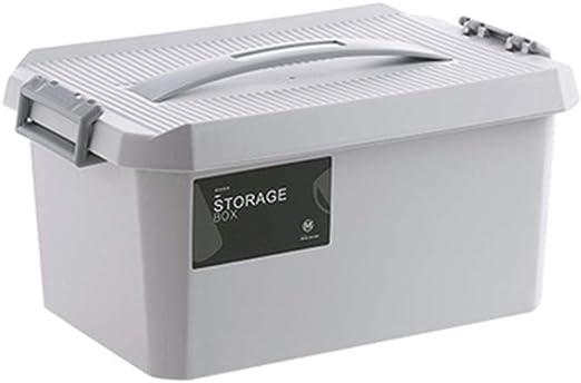 LWBUKK Caja De Almacenamiento Portátil Caja Grande De Plástico Caja De Juguetes Caja De Almacenamiento De Ropa Para El Hogar Caja De Almacenamiento Armario Caja De Almacenamiento De Ropa Caja de almac: