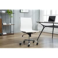 Porthos Home Adjustable Jayme Office Chair, White