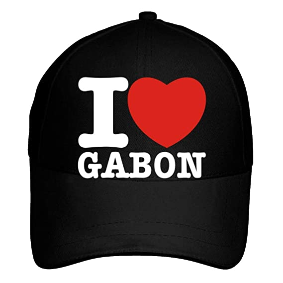 Idakoos I Love Gabon Bold Font - Paises - Gorra De Beisbol  Amazon ... 0d4eecc8fc0