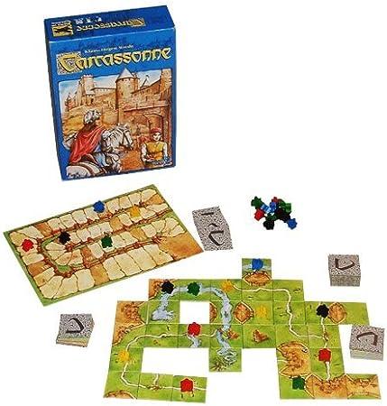 Carcassonne New Edition - Juego de Mesa (en inglés): Carcassonne ...
