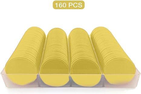 Alacritua 120 Piezas Chips De Plástico Contador De Color Chips Bingo Marcador De Chip Juegos De Mesa Juegos De Fichas Juguete De Monedas: Amazon.es: Deportes y aire libre