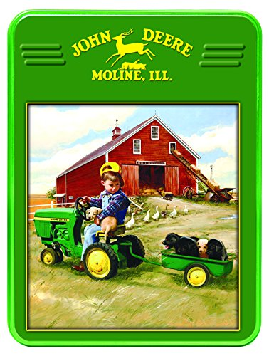 MasterPieces John Deere Tractor Ride Collectible Jigsaw Puzzle Tin, 1000-Piece