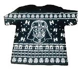 Star Wars Men's Darth Vader Holiday Christmas Sweater T-Shirt Tee (Large)