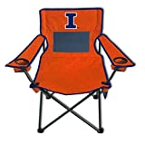 Rivalry NCAA Illinois Illini Monster Mesh Folding Chair