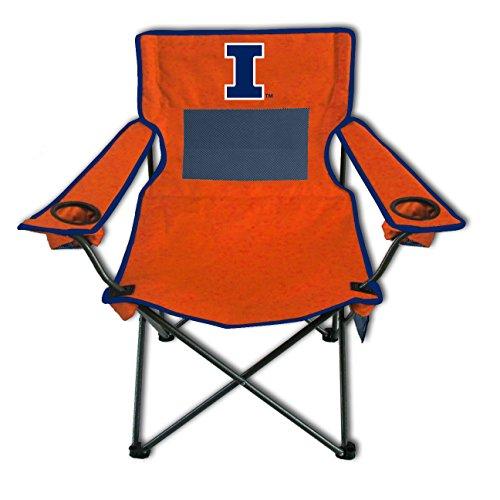 Rivalry NCAA Illinois Illini Monster Mesh Folding Chair