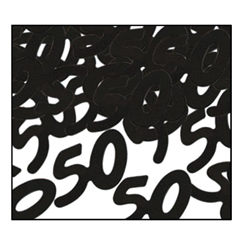 50th Birthday Confetti - 6