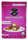 Wrawp - Organic Veggie Wraps Energy-Morning - 3 Sheet(s)