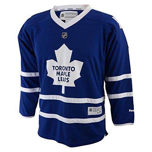 (Maple Leafs Blank Blue Infants Reebok Home Replica Jersey )