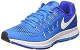 Nike Women's Air Zoom Pegasus 33 Blue Glow/White/Rcr Blue/Blcp Running Shoe 6 Women US