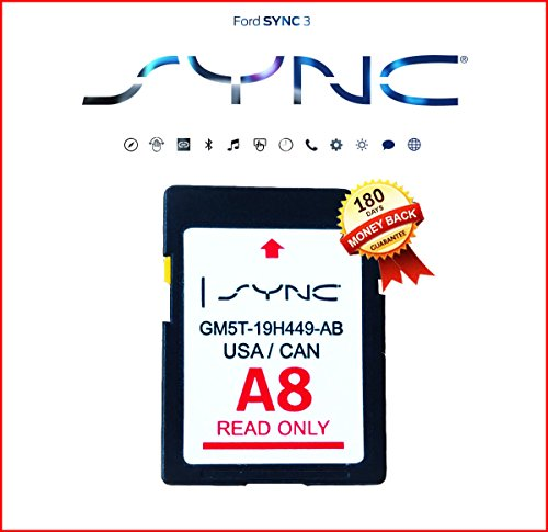 by Ford Navigation LATEST A8 2018 SD CARD SYNC FITS ALL FORD LINCOLN UPDATES A7 by by Ford