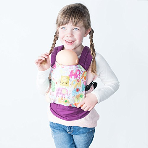 Cheapest Price! LILLEbaby Doll Carrier - Playful Pachyderms