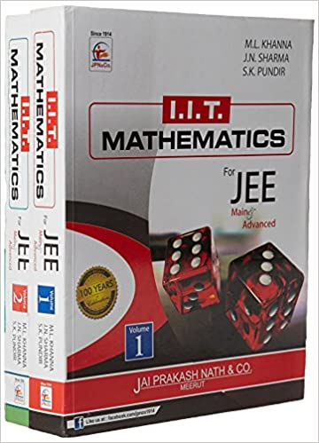Iit mathematics for jee main advanced set of 2 volumes paperback iit mathematics for jee main advanced set of 2 volumes paperback amazon na books fandeluxe