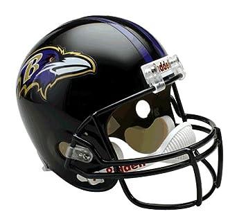 Réplica de casco de fútbol americano NFL de los Arizona Cardinals, Unisex, 30539, Baltimore Ravens: Amazon.es: Deportes y aire libre