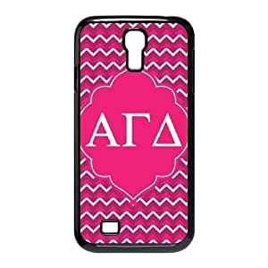 Alpha Gamma Delta Pink Samsung Galaxy S4 9500 Cell Phone Case Black Exquisite gift (SA_728006)