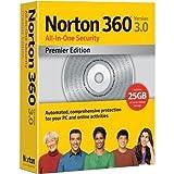 Software : Norton 360 Premier Edition 3.0 1User/3Pc [Old Version]