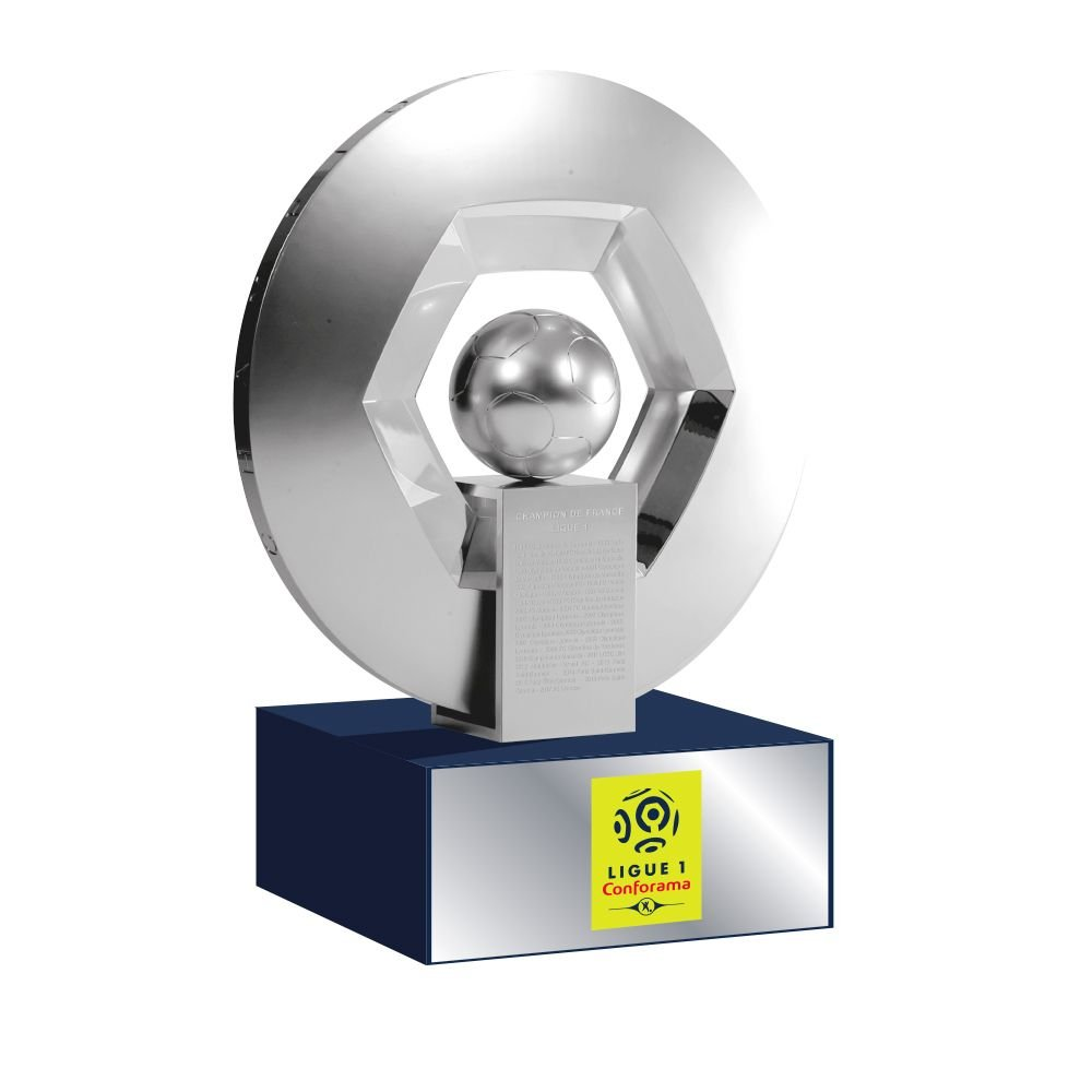 hexagoal - TROFEO del Champion de France SOCLE en Matière acrílico/liga 1 (150 mm): Amazon.es: Deportes y aire libre